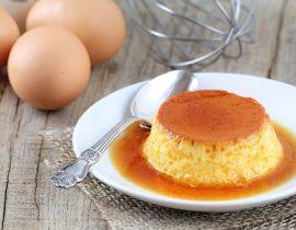 como hacer un flan de huevo casero