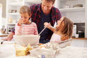 Recetas saludables para niños en Navidad