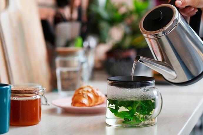 Cómo cocinar con té
