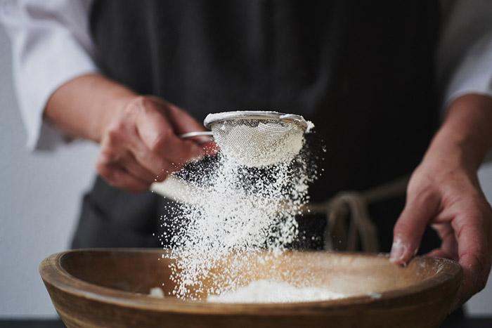 trucos para tamizar en cocina