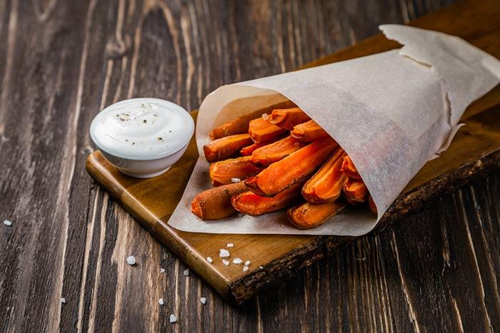 alternativas sustituir las patatas fritas