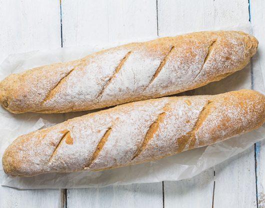 receta baguette o pan frances
