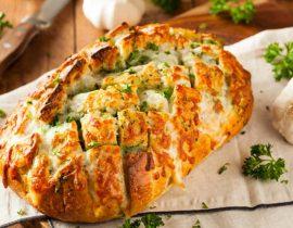 receta de pan de ajo casero