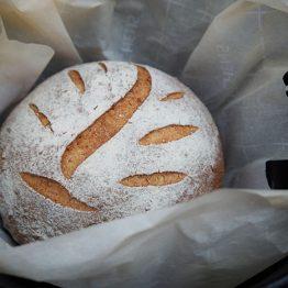 receta pan de pueblo casero
