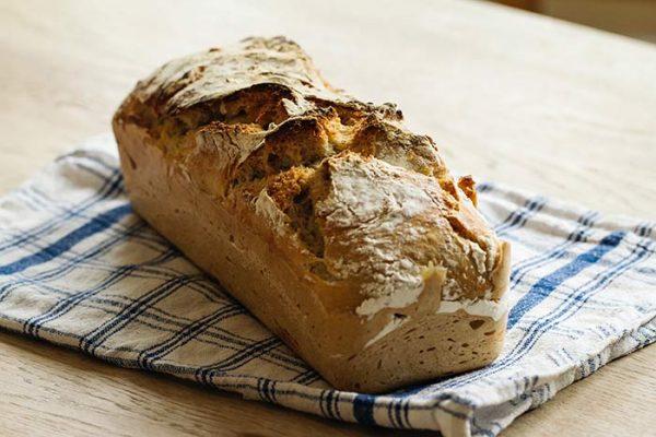 receta pan con thermomix