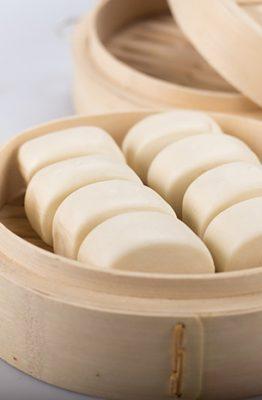 receta pan chino o mantou