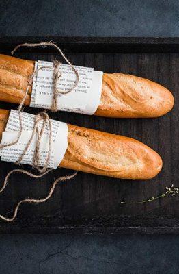 receta pan flauta casero