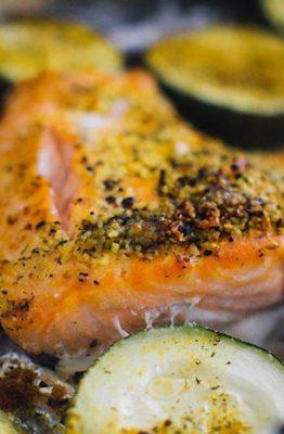 receta salmon al horno casero