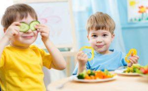 Recomendaciones para organizar un menú infantil saludable